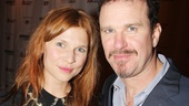 After a successful opening, leading duo Douglas Hodge and Clemence Poesy have a lot to smile about.