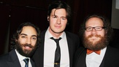 Cyrano de Bergerac Opening Night  Ben Steinfeld  Benjamin Walker  Andy Grotelueschen