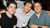 Cyrano de Bergerac Opening Night  Philip Ettinger  Michael Zegen  Joshua Harmon