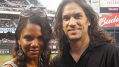 Audra accompanied Will (and his boys Sawyer and Bridger) to Citi Field on August 22, 2009, when Will sang the national anthem before a sold-out crowd of adoring fans celebrating the 40th anniversary of the Mets' first World Series victory.