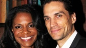 It was just another op'nin', another triumph for the theater couple as they celebrated Audra's star turn in Porgy and Bess at the Broadway opening on January 12, 2012.
