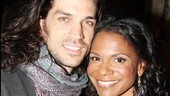 Audra McDonald &amp; Will Swenson Love Timeline  Wishful Drinking opening