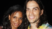 Audra McDonald &amp; Will Swenson Love Timeline  Hair in the Park
