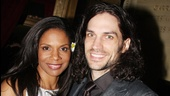 The twosome felt flower power at the groovy Broadway opening of Hair on March 31, 2009.