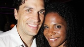 The couple let the sun shine in as the Hair revival returned to Broadway with a new cast on July 13, 2011.
