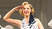 Rachel York as Reno Sweeney and the cast of the national tour of Anything Goes.