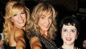 They are the dancing queens! See Felicia Finley, Judy McLane, Lauren Cohn and the cast of Mamma Mia! at Broadway's Winter Garden Theatre.