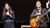 Music couple Jessica Molaskey and John Pizzarelli deliver with an energetic swing number.