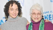 Chaim Potok's daughter Naama and widow Adena are proud to be part of the New York premiere of My Name Is Asher Lev. (Naama is understudying Jenny Bacon in the play.)