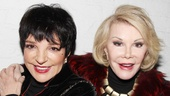 The Performers  preview opening  Liza Minnelli  Joan Rivers 