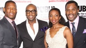 Cast members Korey Jackson, Maurice McRae, Sharon Washington and Colman Domingo show off their dazzling fashion sense on the red carpet.