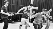 Bare  Rehearsal  Jason Hite  Casey Garvin  Travis Wall  Michael Tacconi  Anthony Festa