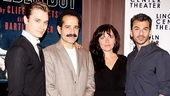 Its a family portrait! Seth Numrich, Tony Shalhoub, Dagmara Dominczyk and Michael Aronov play Golden Boy's Bonaparte family.