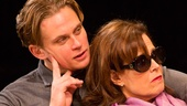 Billy Magnussen as Spike and Sigourney Weaver as Masha in Vanya and Sonia and Masha and Spike.