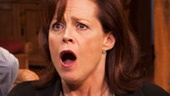 Sigourney Weaver as Masha, Kristine Nielsen as Sonia and David Hyde Pierce as Vanya in Vanya and Sonia and Masha and Spike.