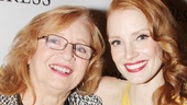 Jessica Chastain and her grandmother Marilyn look fabulous on the red carpet!