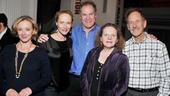'Sorry' Opening Night — J. Smith-Cameron — Laila Robins — Jay O. Sanders — Maryann Plunkett — Jon DeVries