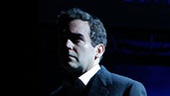 Brian d'Arcy James as Bick and Kate Baldwin as Leslie in Giant.