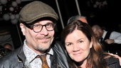 Checkers opening night – Terry Kinney – Mare Winningham