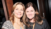 Kathryn Erbe supported pal Mare Winningham on opening night of the off-Broadway hit Tribes, and Winningham is delighted to return the favor.
