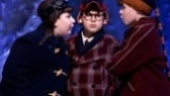 Jeremy Shinder, Johnny Rabe as Ralphie and J.D. Rodriguez in A Christmas Story.