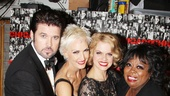 Classy stars Billy Ray Cyrus, Amra-Faye Wright, Amy Spanger and Carol Woods beam at the anniversary celebration.