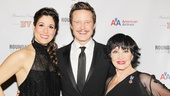 Drood stars Stephanie J. Block, Will Chase and Chita Rivera have plenty to smile about.