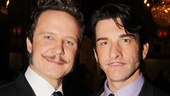 Check out those staches! Will Chase and Andy Karl exercise their facial hair freedom in Drood.