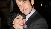 The dashing Andy Karl embraces his legendary co-star Chita Rivera.