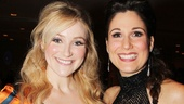 Betsy Wolfe and Stephanie J. Block play onstage lovers Rosa Bud and Edwin Drood.