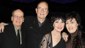Chita Rivera wouldnt miss the chance to celebrate another opening night with her siblings Armando, Julio and Lola.