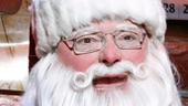 Wayne Knight as Santa in Elf.