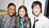 Diane Paulus is all smiles with Pippin stars Patina Miller and Matthew James Thomas. See it at A.R.T. beginning December 5.