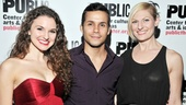 Giant Opening Night  Melissa Mitchell  Xavier Cano  Becca Ayers
