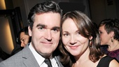 Brian d'Arcy James is lucky to have his wife, actress Jennifer Prescott, on his arm!
