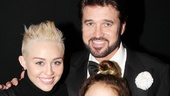 Chicago star Billy Ray Cyrus welcomes his adoring daughters, Miley and Noah, to the Ambassador Theatre.