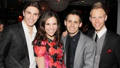 A Christmas Story Opening Night  Derek Klena  Lindsay Mendez  Benj Pasek  Justin Paul