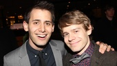 A Christmas Story Opening Night  Benj Pasek  Andrew Keenan-Bolger