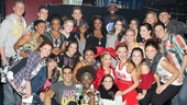Gabby Douglas, McKayla Maroney and Aly Raisman at 'Bring It On'