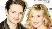 Sebastian Stan and Maggie Grace play lovers in the forthcoming Broadway revival of Picnic. Don't they look great together?
