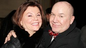 Dead Accounts Opening Night  Marsha Mason  Jack OBrien