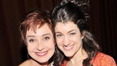 Annie Potts played beauty shop owner Truvy opposite the hilarious Sarah Stiles as innocent shop assistant Annelle.