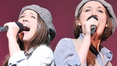 Newsies gals Laurie Veldheer and Caitlyn Caughell sing about their dreams of being newsboys.