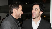 Les Miserables London premiere  Hugh Jackman  Sacha Baron Cohen