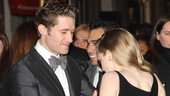 Les Miserables London premiere  Matthew Morrison  Amanda Seyfried