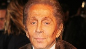 Les Miserables London premiere  Valentino Garavani