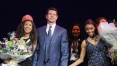 The Bodyguard opening night  Debbie Kurup  Lloyd Owen  Heather Headley