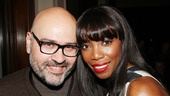 The Bodyguard opening night – Bruce Glikas – Heather Headley