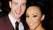 The Bodyguard opening night  Yasmin Harrison  boyfriend Clark