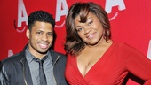 Sister Act star Chester Gregory supports his pal DaVine Joy Randolph on her opening night.